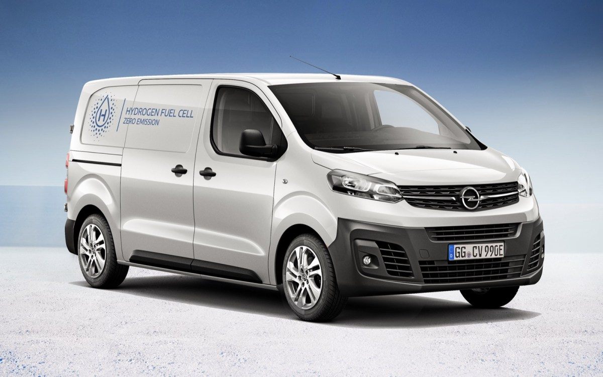 Opel Vivaro E Hydrogen 1