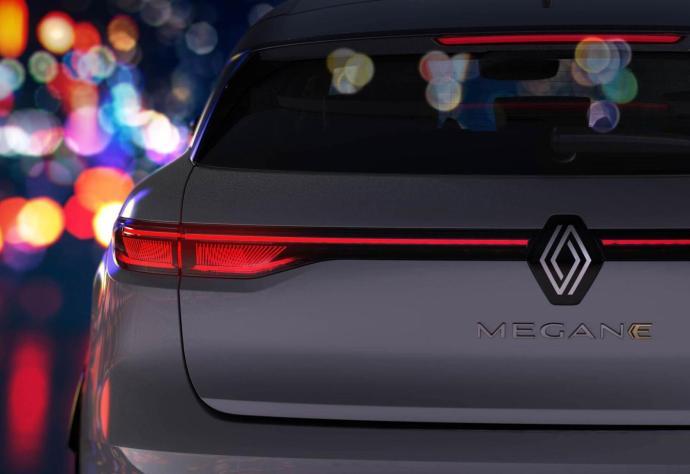 Renault Megane Elektro Back