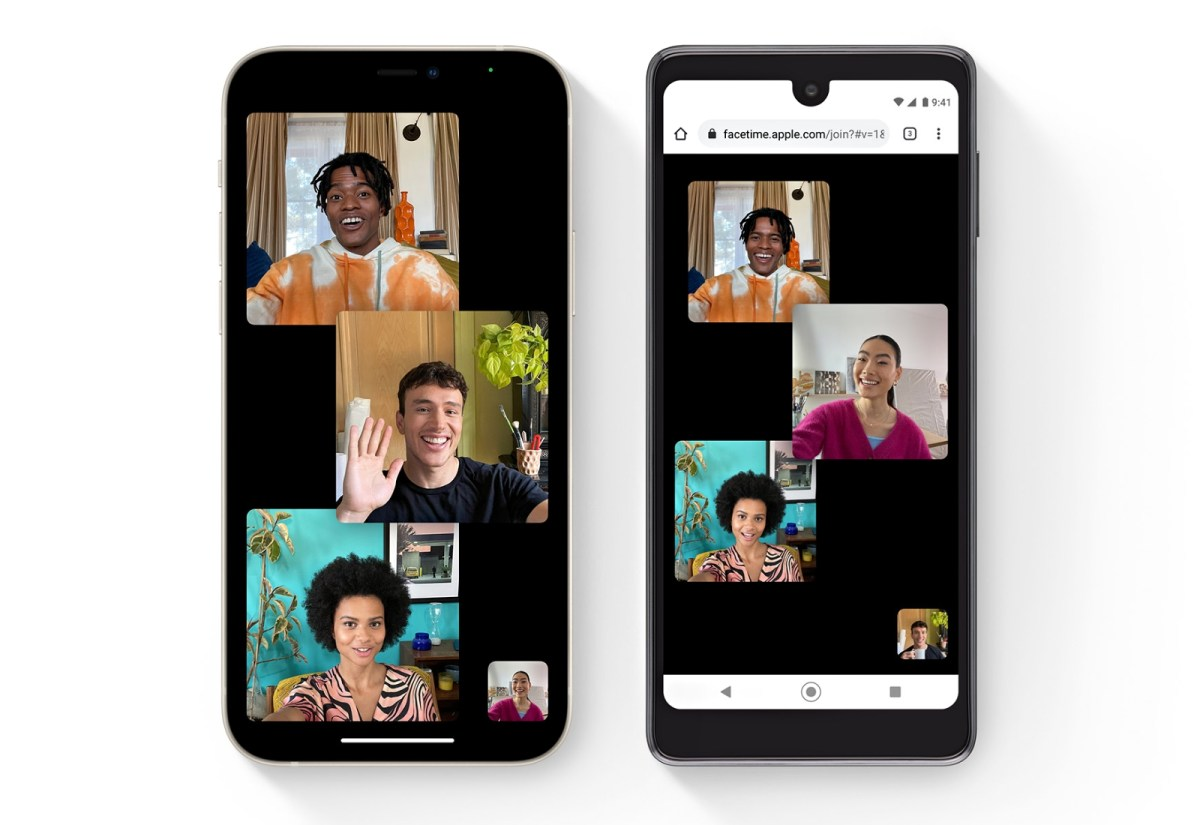 Apple Facetime Android