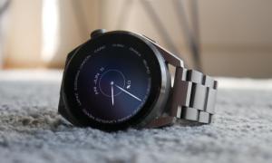 Huawei Watch 3 Pro Uhrzeit