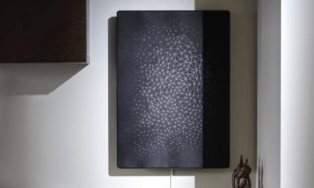 Ikea Symfonsik Rahmen Schwarz