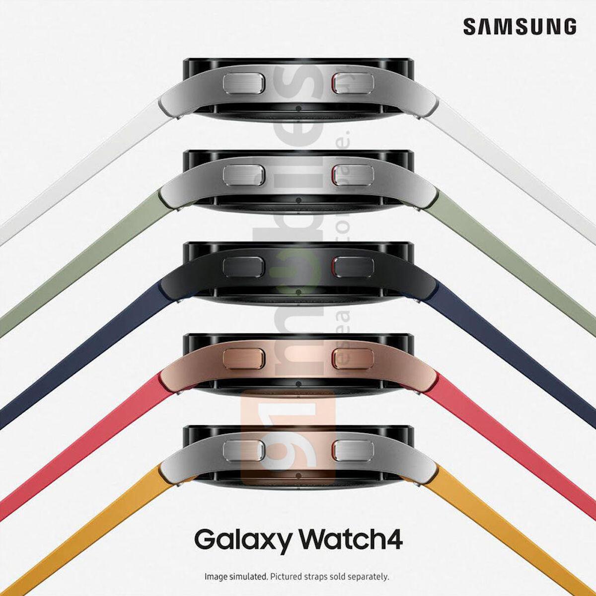 Samsung Galaxy Watch 4 Leak Farben