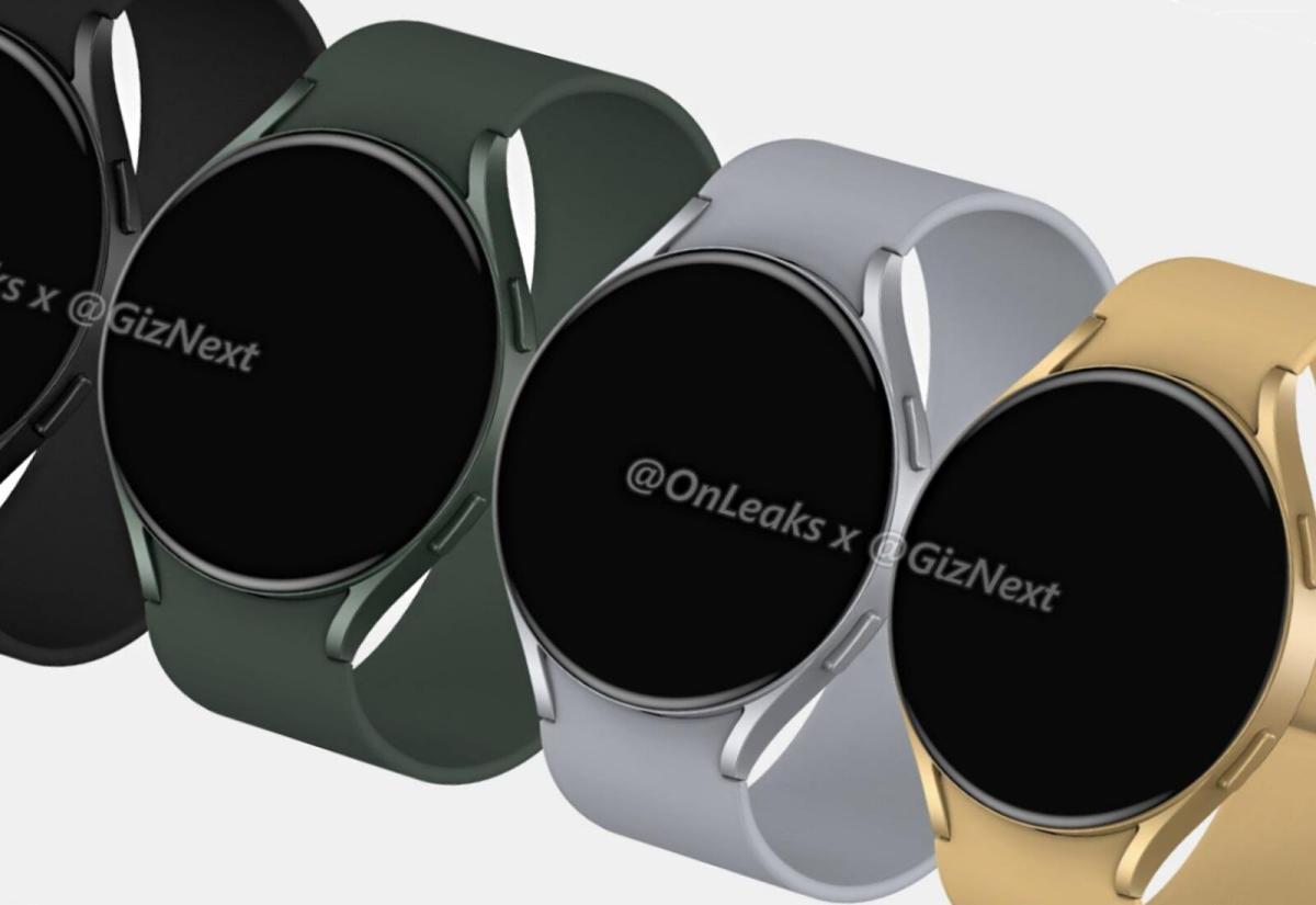 Samsung Galaxy Watch Active 4 Render Header