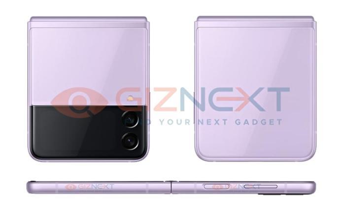 Samsung Galaxy Z Flip 3 Leak Seite