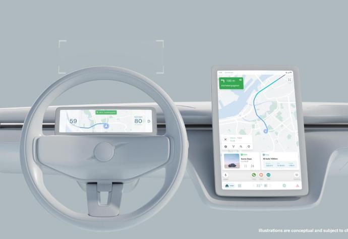 Volvo Android Automotive Neu 2022