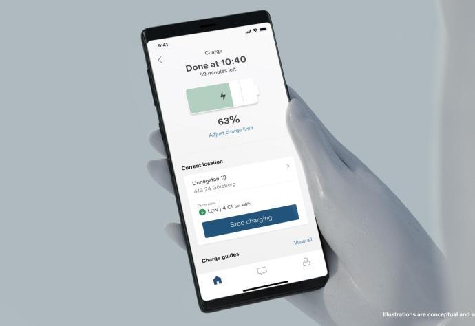Volvo App Neu