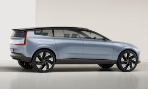 Volvo Concept Recharge Seite