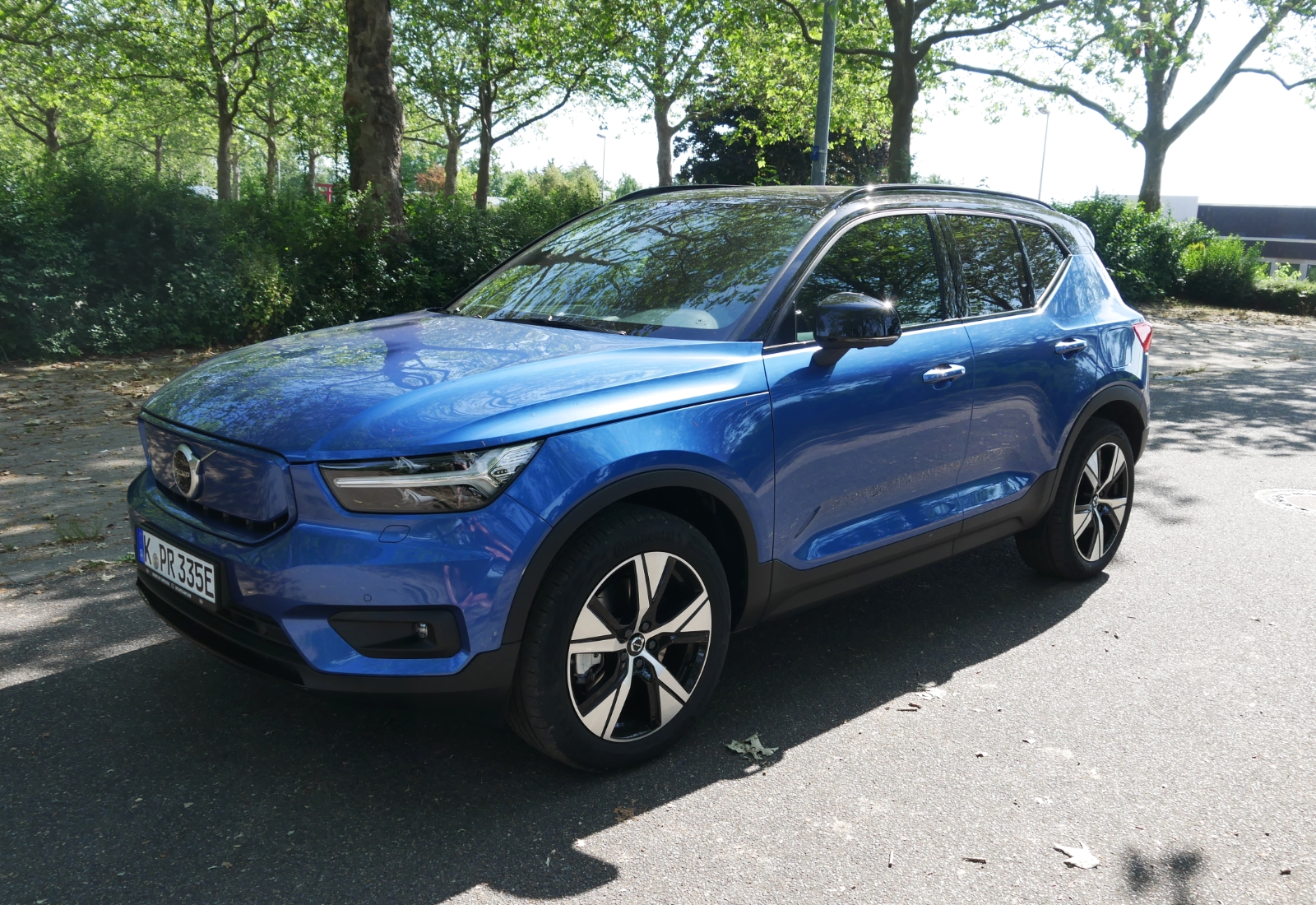 Volvo Xc40 Recharge Pure Electric Oben