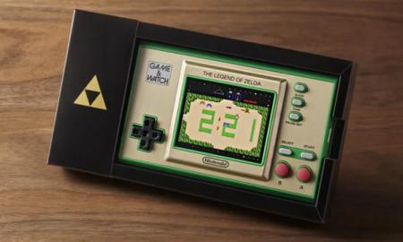 Zelda Game Watch Header