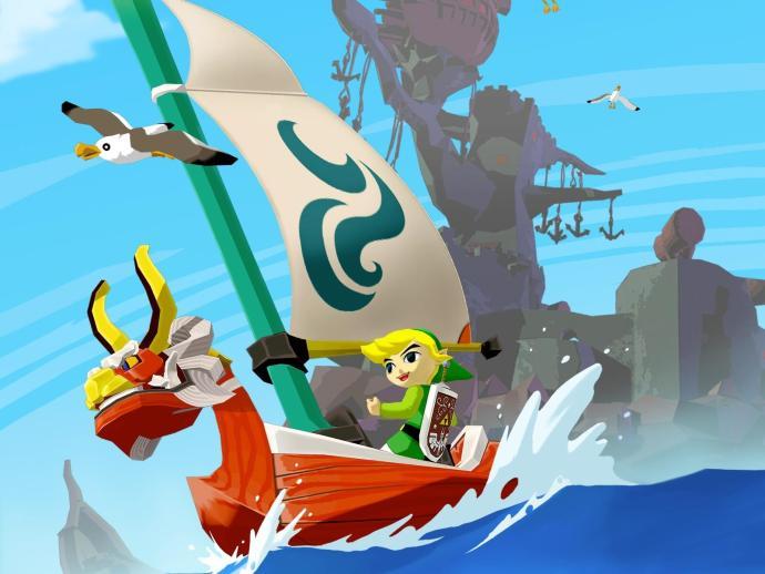 Zelda Wind Waker Header