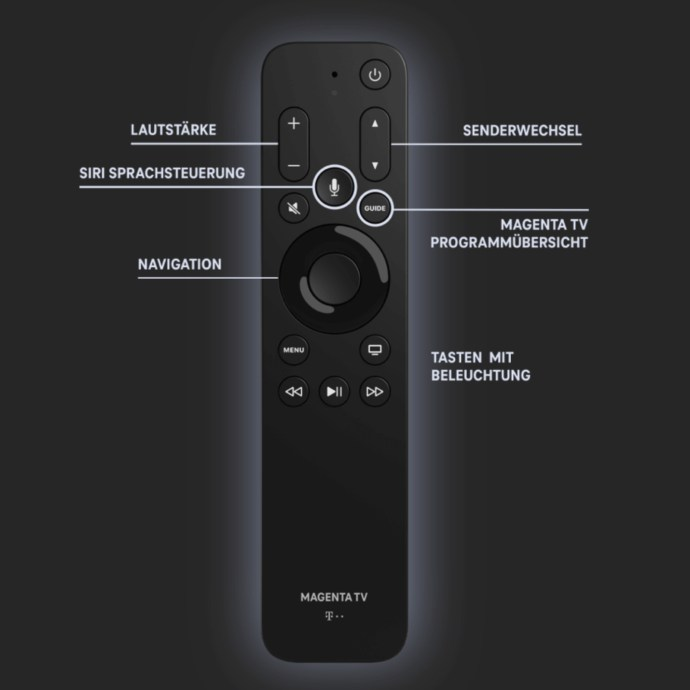 Apple Tv Magenta Telekom Remote