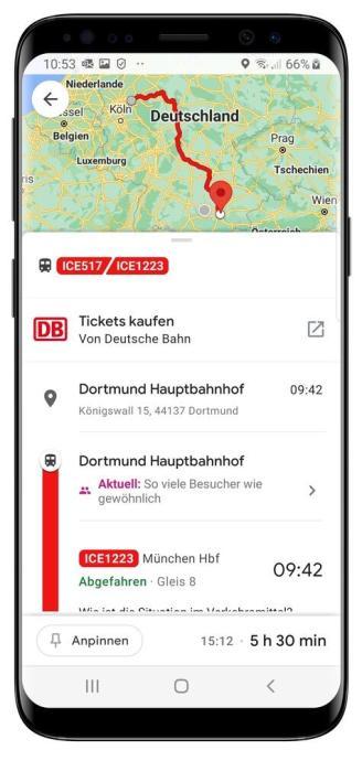 Db Google Maps Smartphone