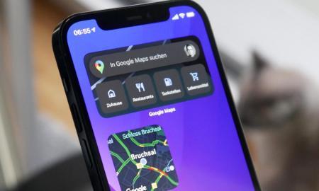 Google Maps Iphone Widgets Header