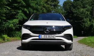 Mercedes Benz Eqa Front