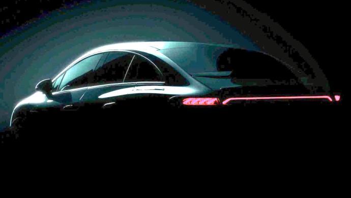 Mercedes Benz Eqe Teaser Hell