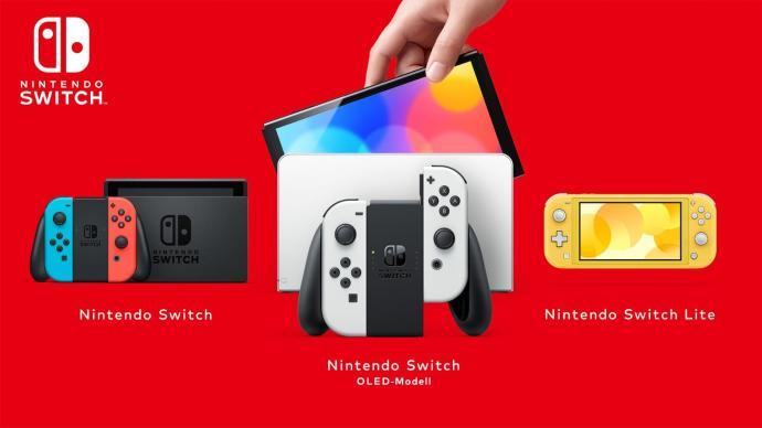 Nintendo Switch Familie 2021