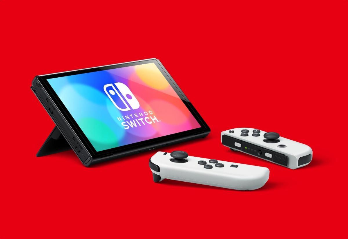Nintendo Switch Oled 2021 Header