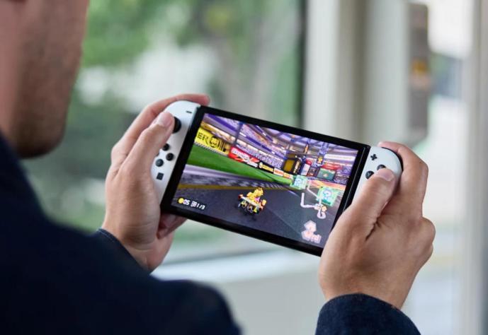 Nintendo Switch Oled 2021 Mario Kart Header