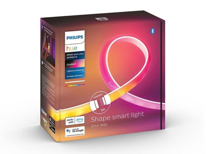 Philips Hue Gradient Lightstrip Ambiance Erweiterung Leak