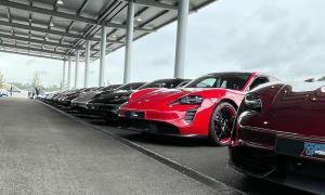 Porsche Taycan Hockenheim Modelle