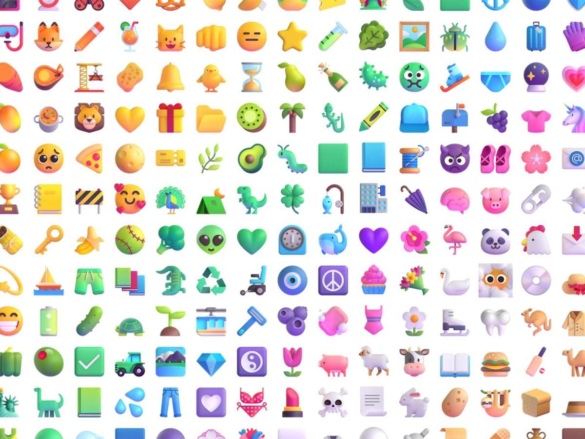 Windows Emojis Header
