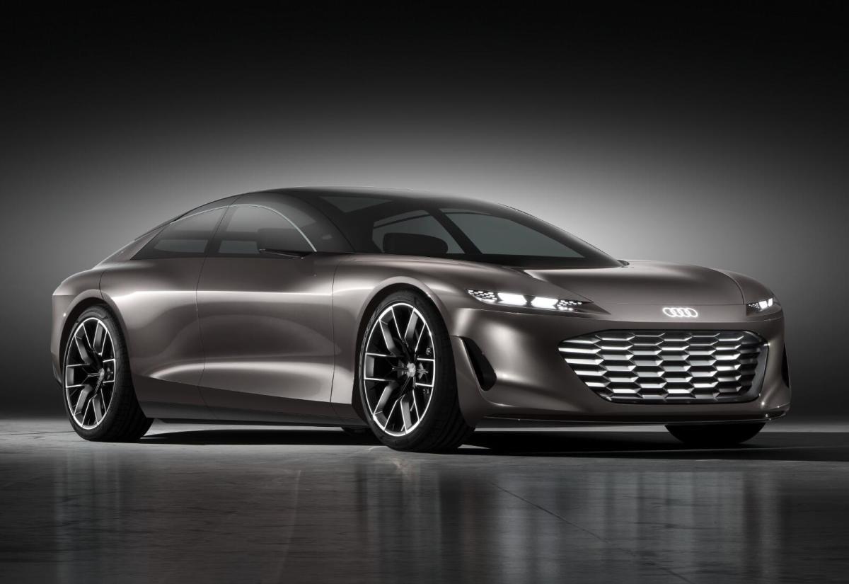 Audi Grandsphere Header