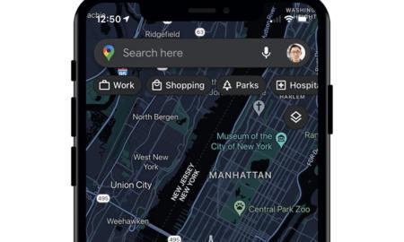 Google Maps Iphone Ios Header