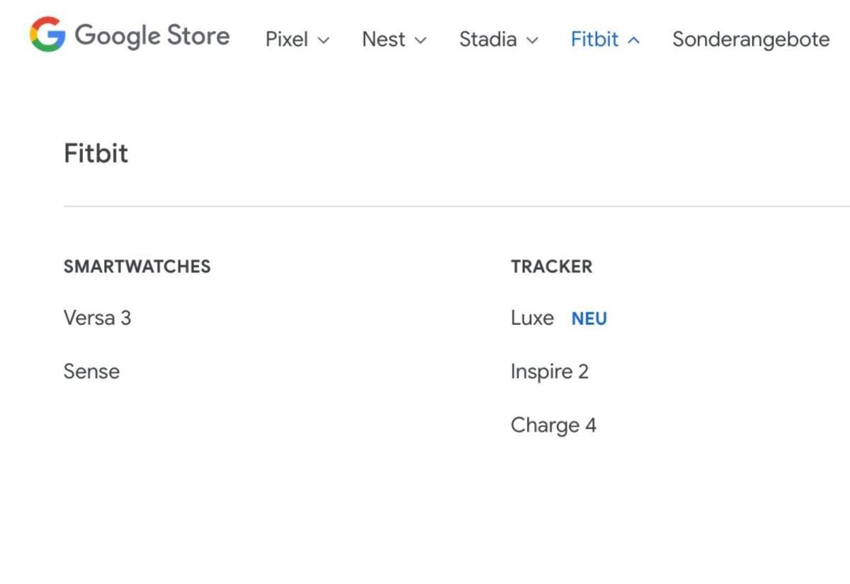 Google Store Fitbit