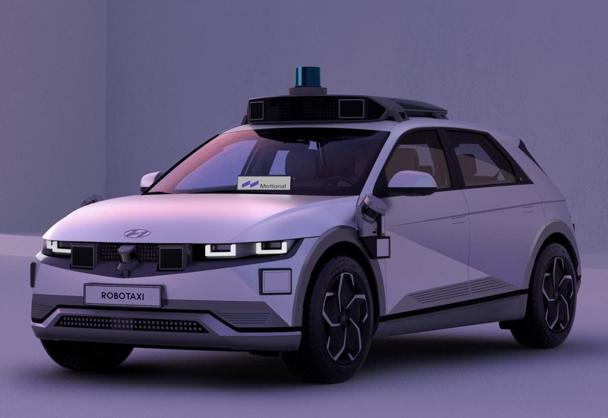 Hyundai Ioniq 5 Autonom Robotaxi