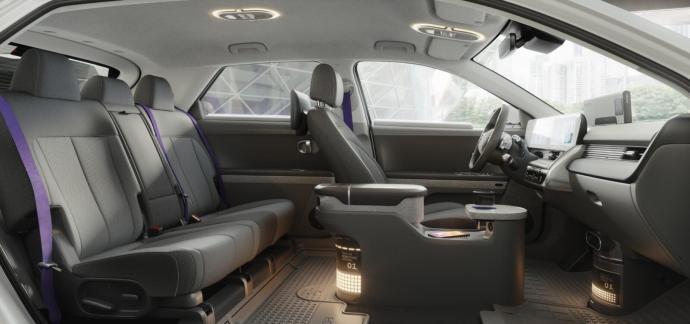 Hyundai Ioniq 5 Innenraum