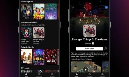 Netflix Spiele Header