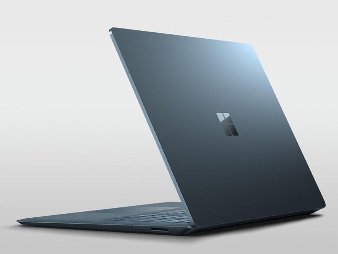 Surface Laptop Back Header