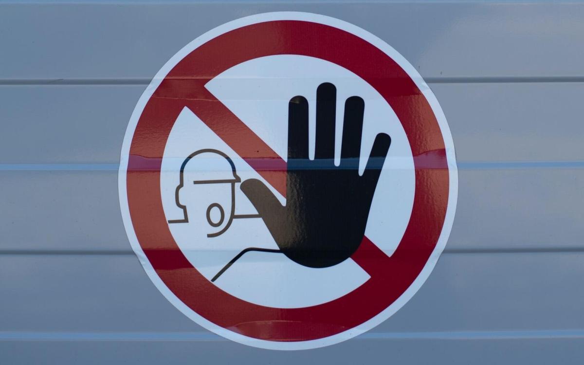 Warning Warnung