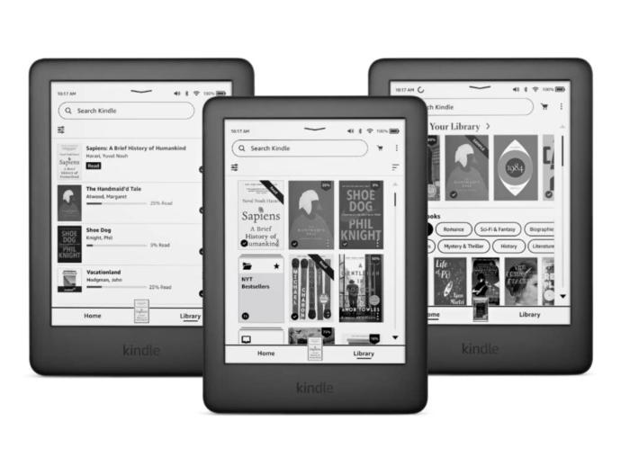 Amazon Kindle Update Header