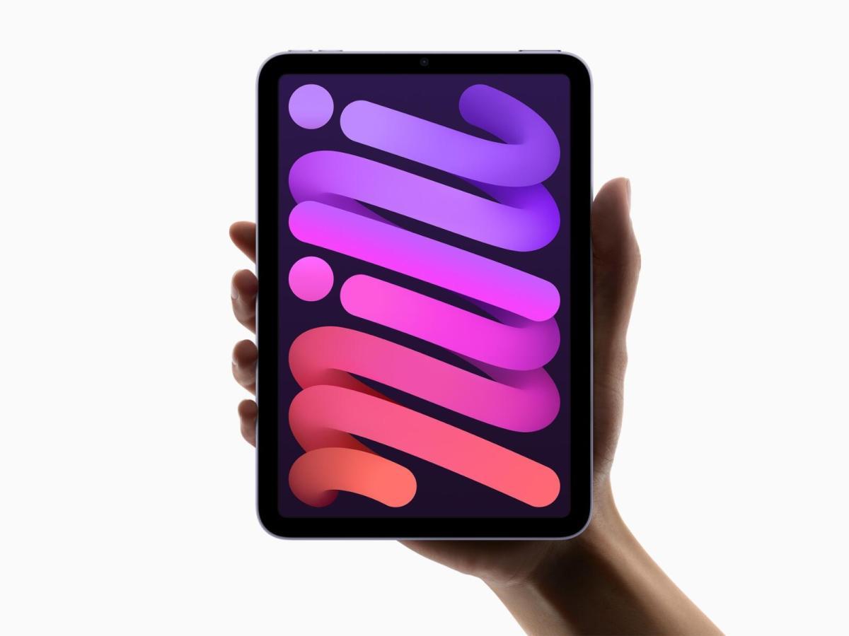 Apple Ipad Mini 2021 Header
