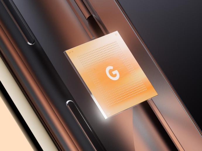 Google Pixel Tensor Chip Header