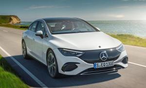 Mercedes Benz Eqe Weiss Front
