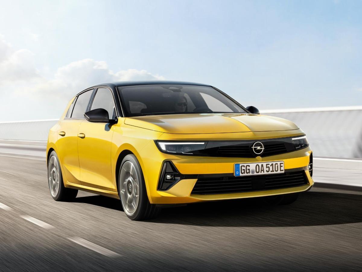 Opel Astra Elektro 2023 Header