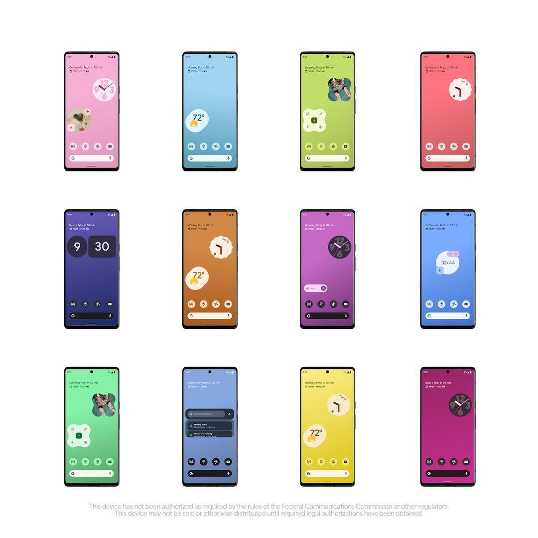 Pixel 6 Front Instagram