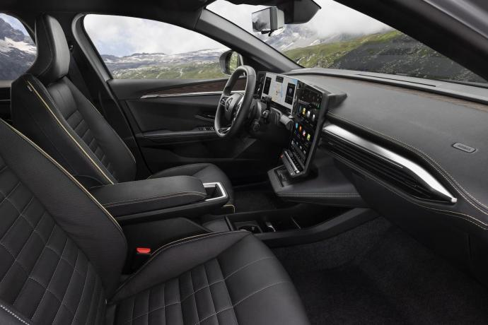 Renault Megane Android Automotive Innen1