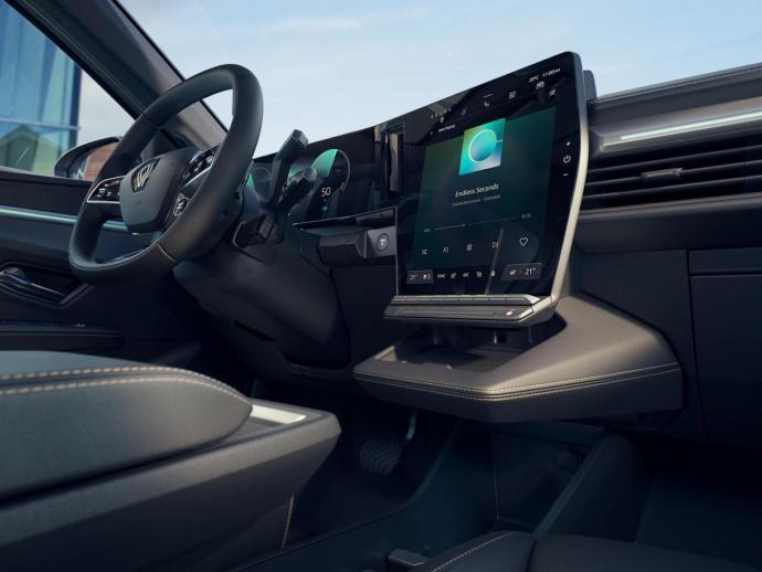 Renault Megane Android Automotive Innen12