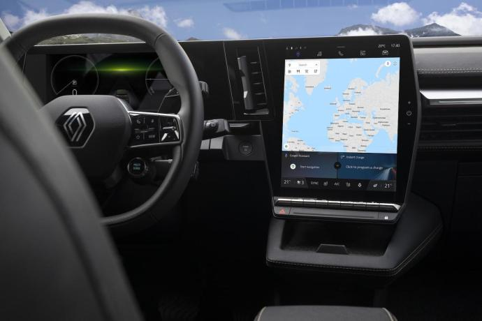 Renault Megane Android Automotive Innen3