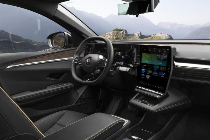 Renault Megane Android Automotive Innen5