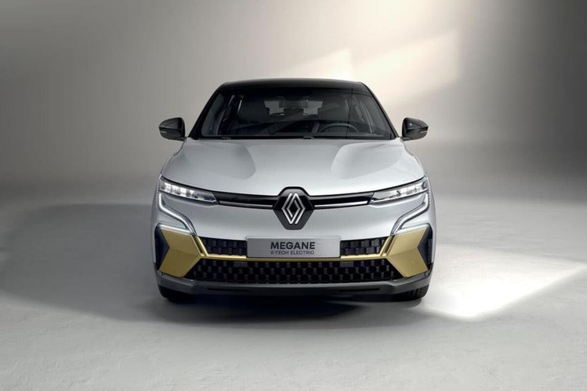 Renault Megane Elektro Front