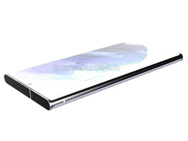 Samsung Galaxy S22 Ultra Render Front