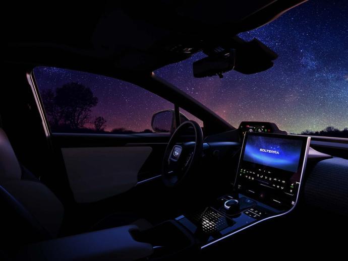 Subaru Solterra Teaser Innen