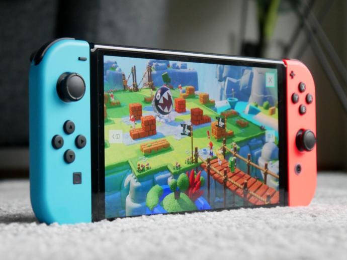 Nintendo Switch Oled Header