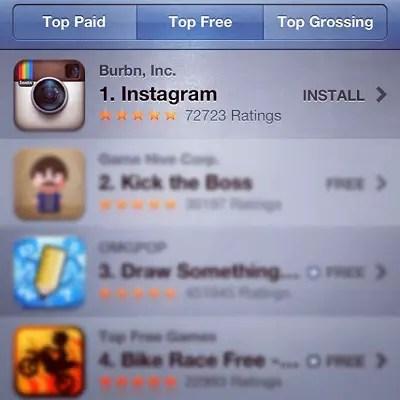 Instagram-No-One-App-Store