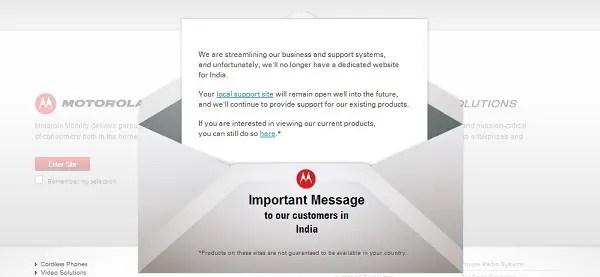 Motorola-India-Shut-Down