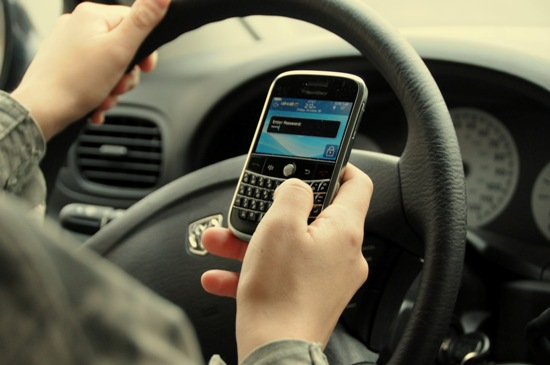 text-driving